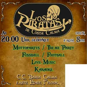 Nightlife Costa Calma: Karaoke & Live Music - Los Piratas - Fuerteventura.